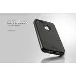 SGP Case Neo Hybrid A Series Smooth Black for iPhone 4, 4S (SGP07123)